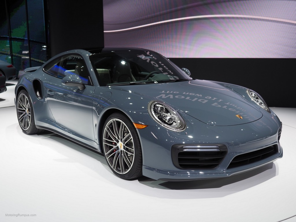 2016 NAIAS Porsche 911 Turbo