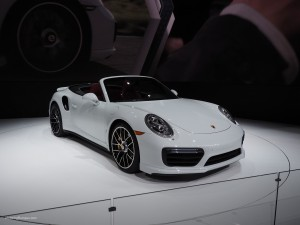 2016 NAIAS Porsche 911 Turbo S