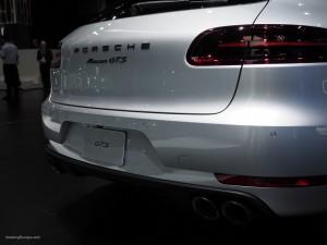 2016 NAIAS Porsche Macan GTS Rear