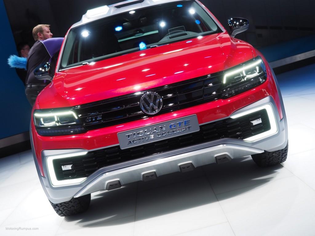 2016 NAIAS VW Tiguan GTE Active Concept