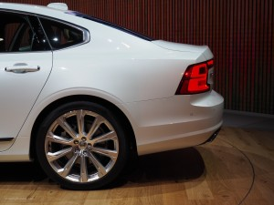 2016 NAIAS Volvo S90 C-Pillar
