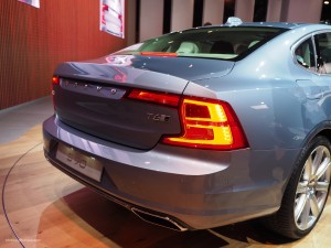 2016 NAIAS Volvo S90 Rear
