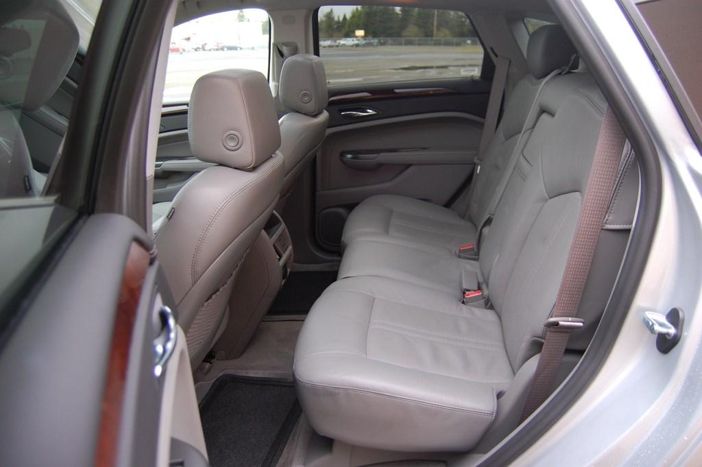 2012 Cadillac SRX Backseat
