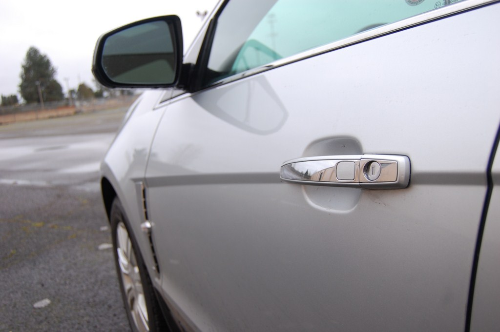 2012 Cadillac SRX Driver Door