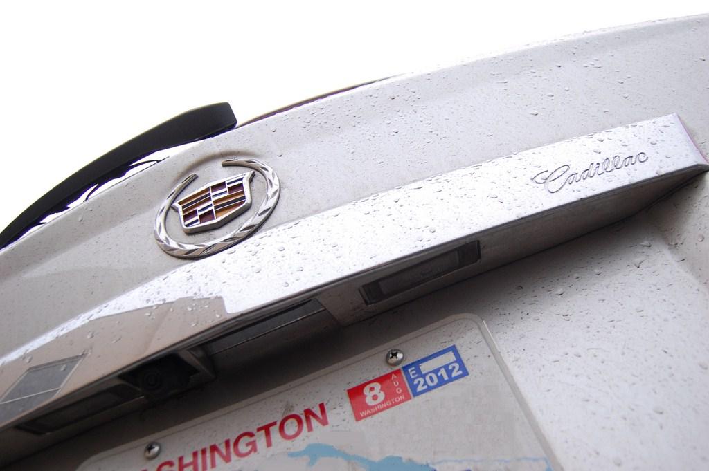 2012 Cadillac SRX Rear Camera
