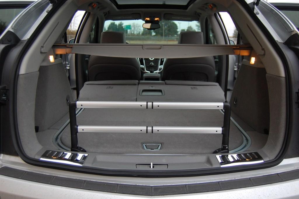 2012 Cadillac SRX Rear Seats Folded