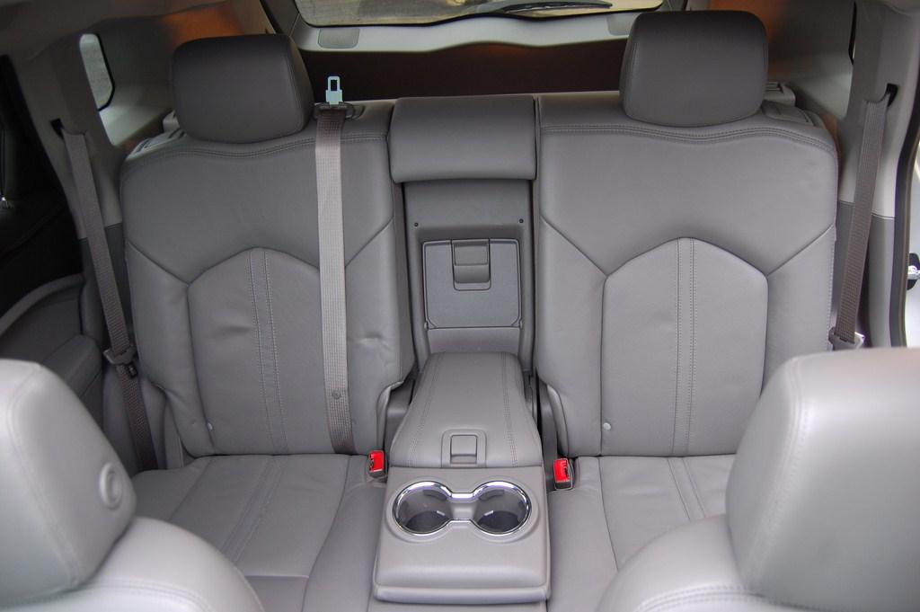 2012 Cadillac SRX Rear Seats