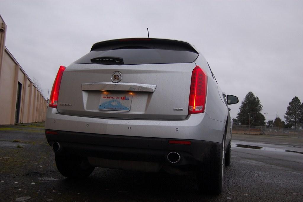 2012 Cadillac SRX Tailgate
