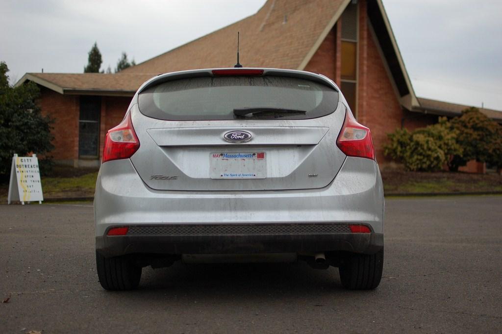 2012 Ford Focus SE Rear