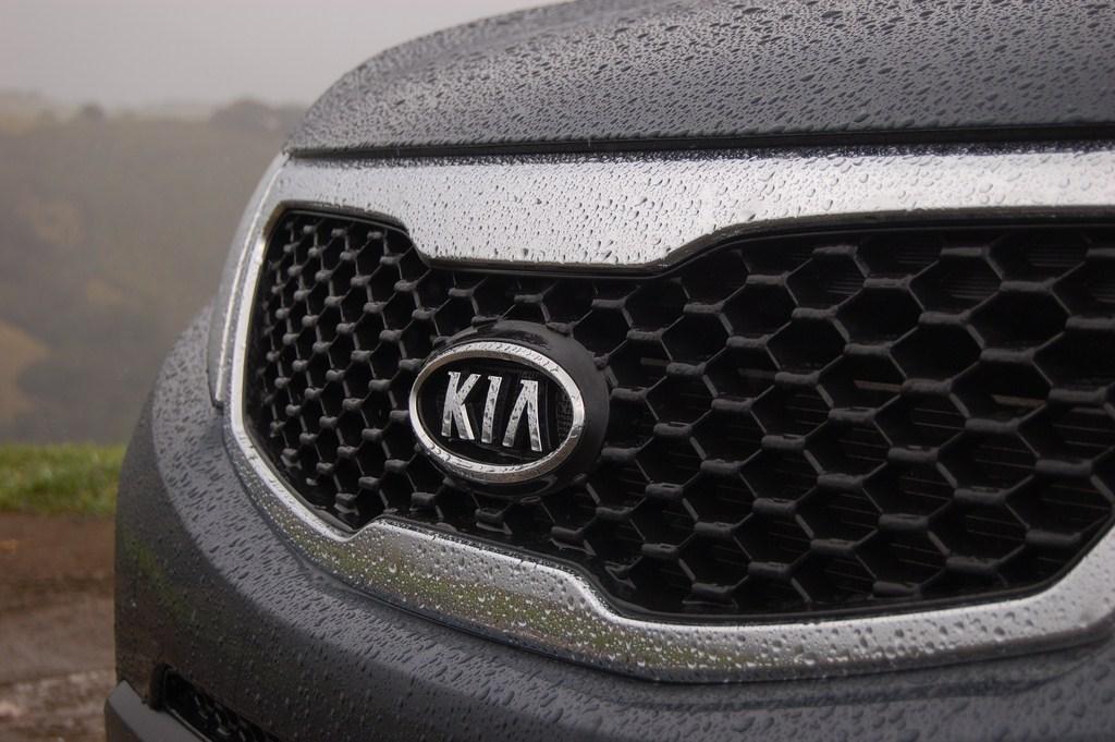"Kia's ""Tiger Nose"" grille"