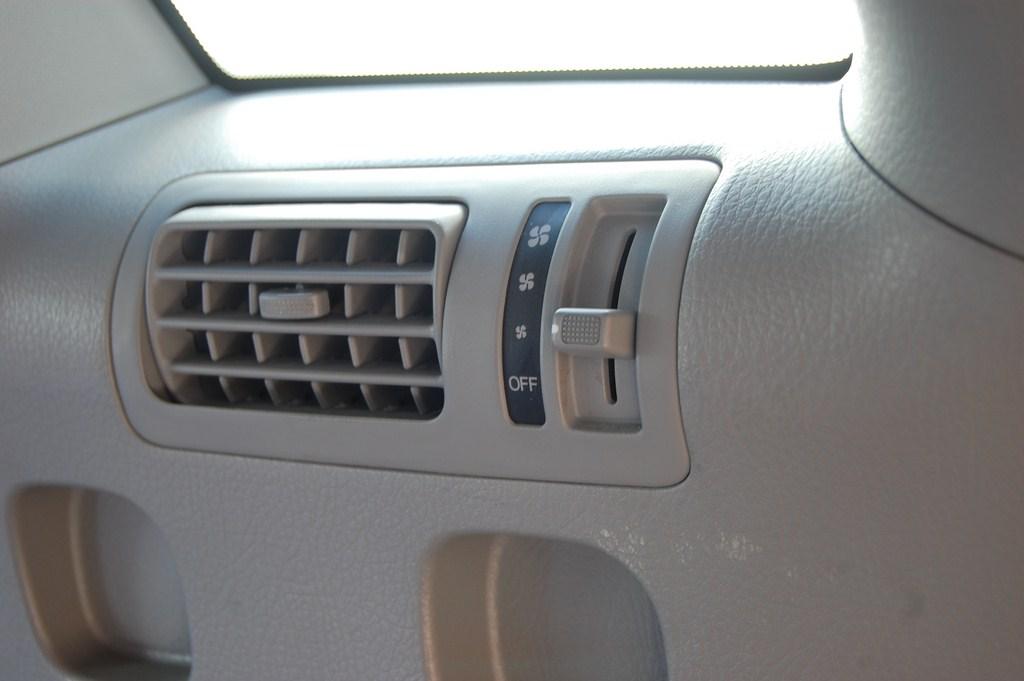 Rear fan control