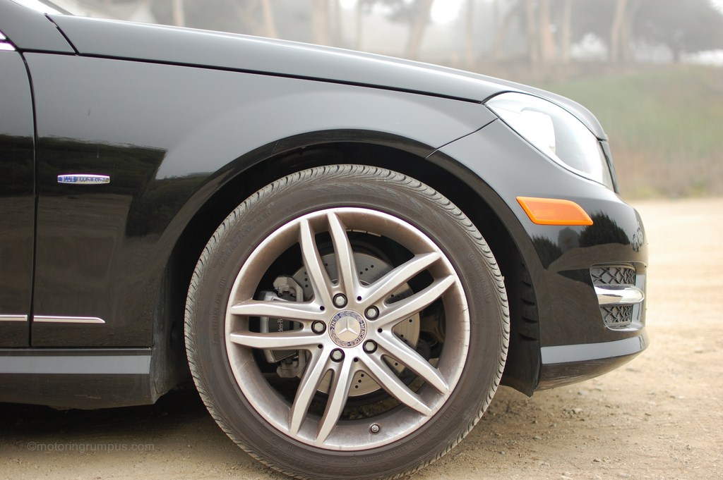 2012 Mercedes-Benz C250 17-inch twin 5-spoke wheel