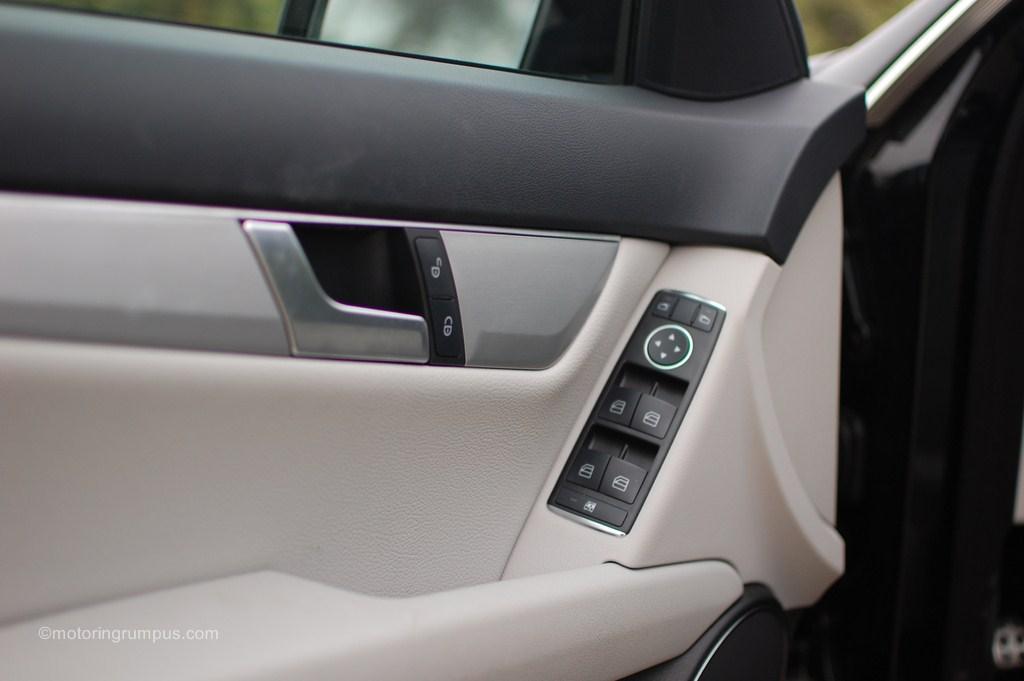 2012 Mercedes-Benz C250 Ash MB-Tex Driver Door