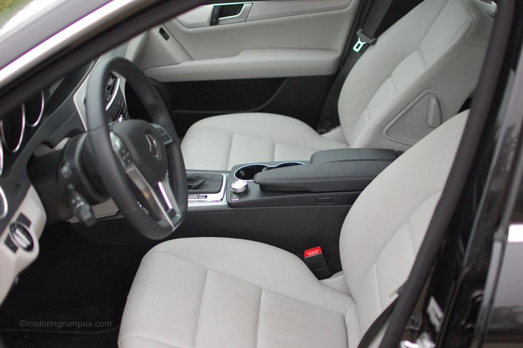2012 Mercedes-Benz C250 Front Seats Ash MB-Tex
