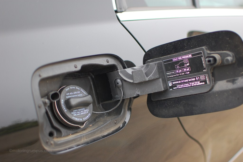 2012 Mercedes-Benz C250 Gas Cap Passenger Side