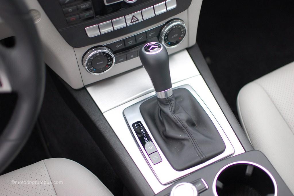 2012 Mercedes-Benz C250 Gear Shift Knob