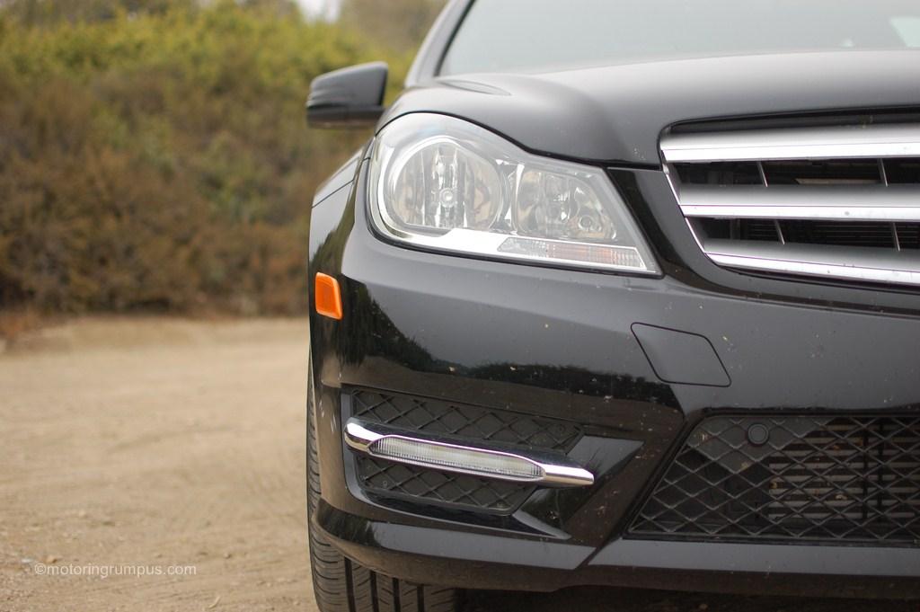 2012 Mercedes-Benz C250 Headlight