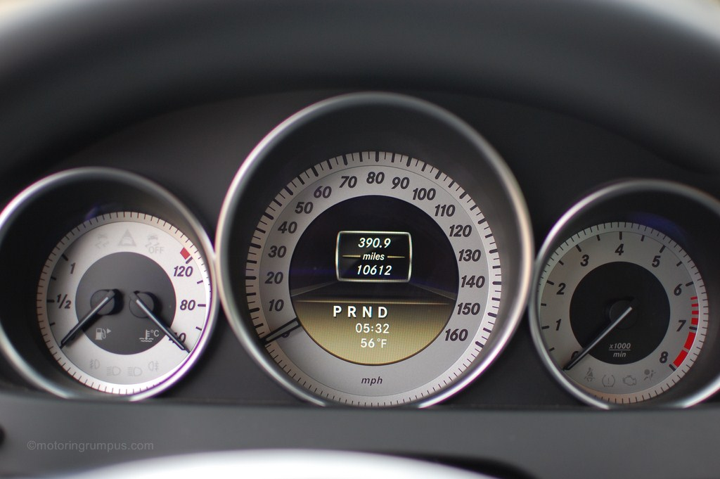2012 Mercedes-Benz C250 Instrument Cluster 4.5-inch Display
