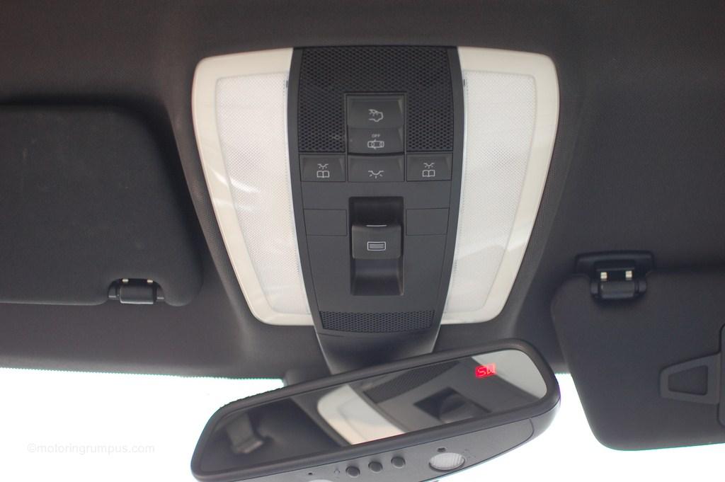 2012 Mercedes-Benz C250 Overhead Button Controls