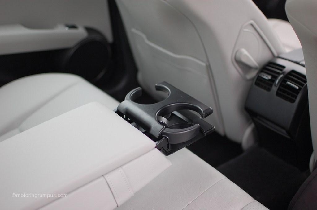 2012 Mercedes-Benz C250 Rear Cupholders
