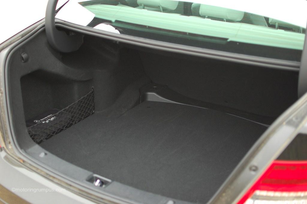 2012 Mercedes-Benz C250 Trunk