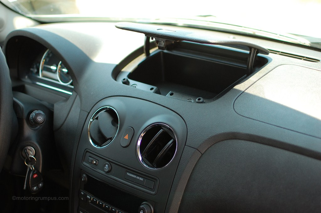 2011 Chevy HHR Dash