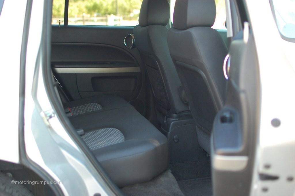 2011 Chevy HHR Rear Seats