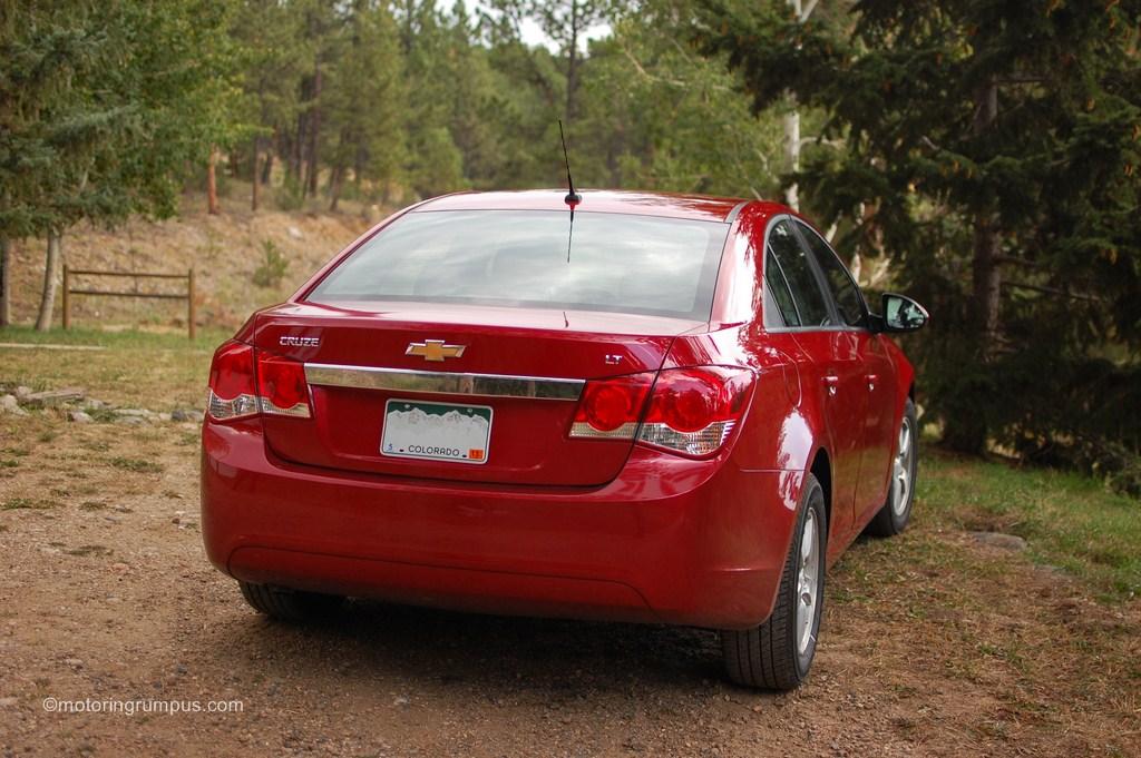 2012 Chevy Cruze Rear