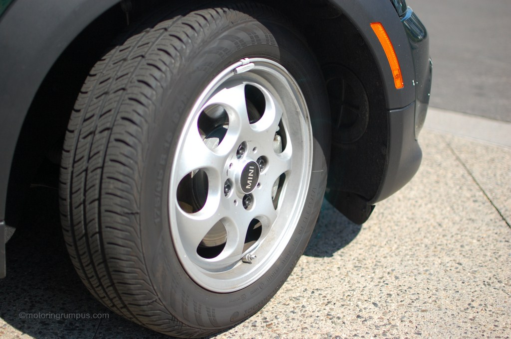 2012 Mini Cooper 15-inch 7-hole Wheels