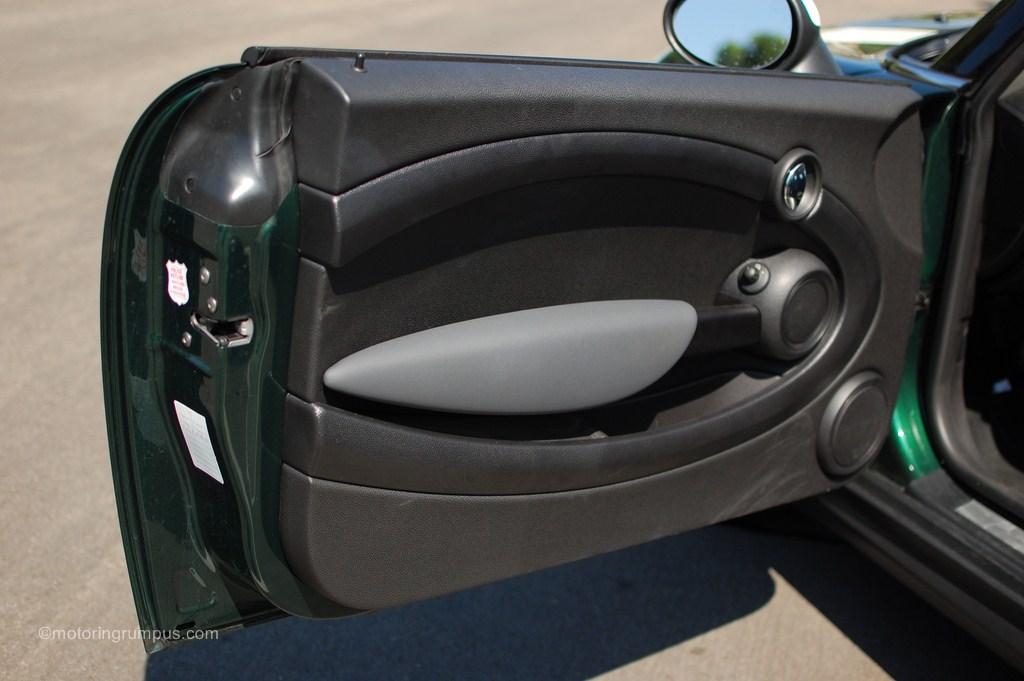 2012 Mini Cooper Driver Door