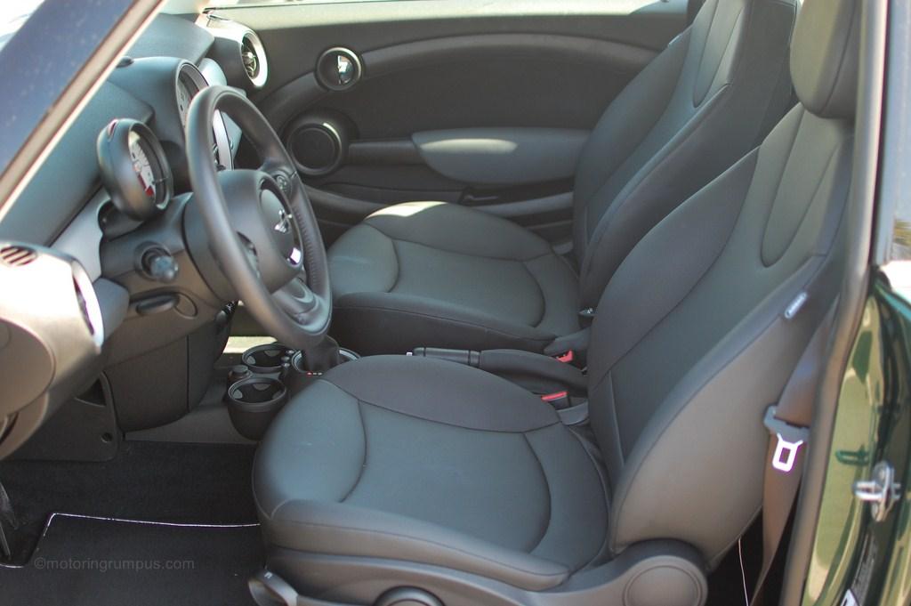 2012 Mini Cooper Front Seats