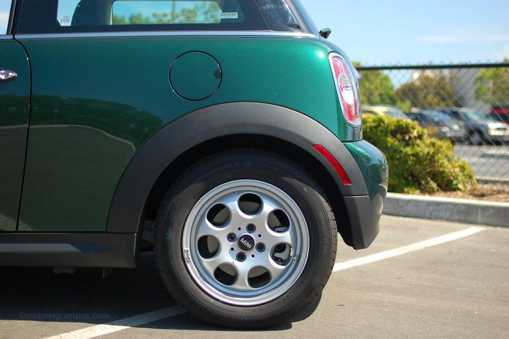 2012 Mini Cooper Hardtop Rear Bumper