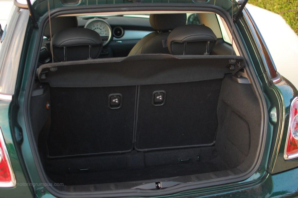 2012 Mini Cooper Hardtop Trunk