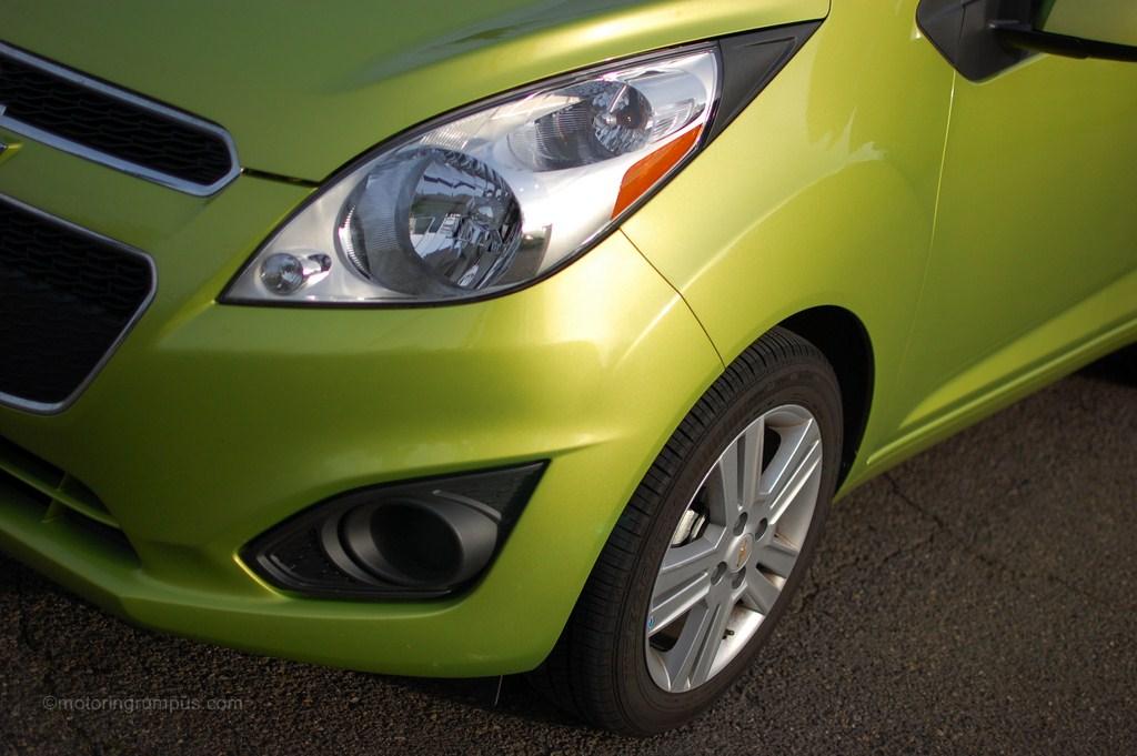 2013 Chevy Spark 1LT Front Quarter