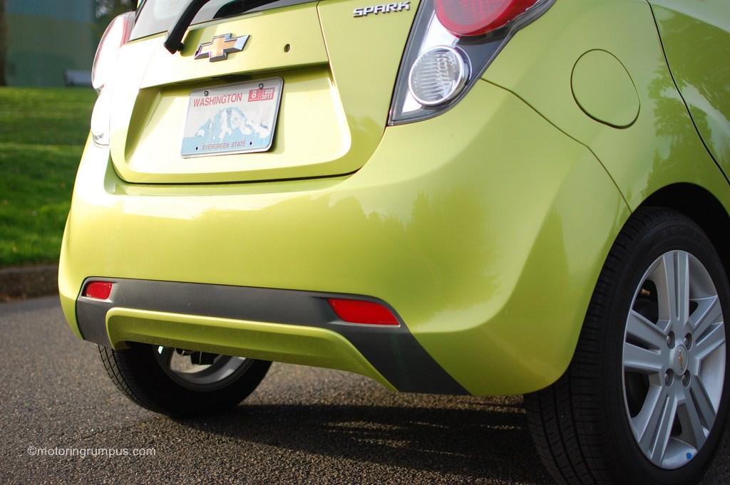 2013 Chevy Spark 1LT Rear Bumper