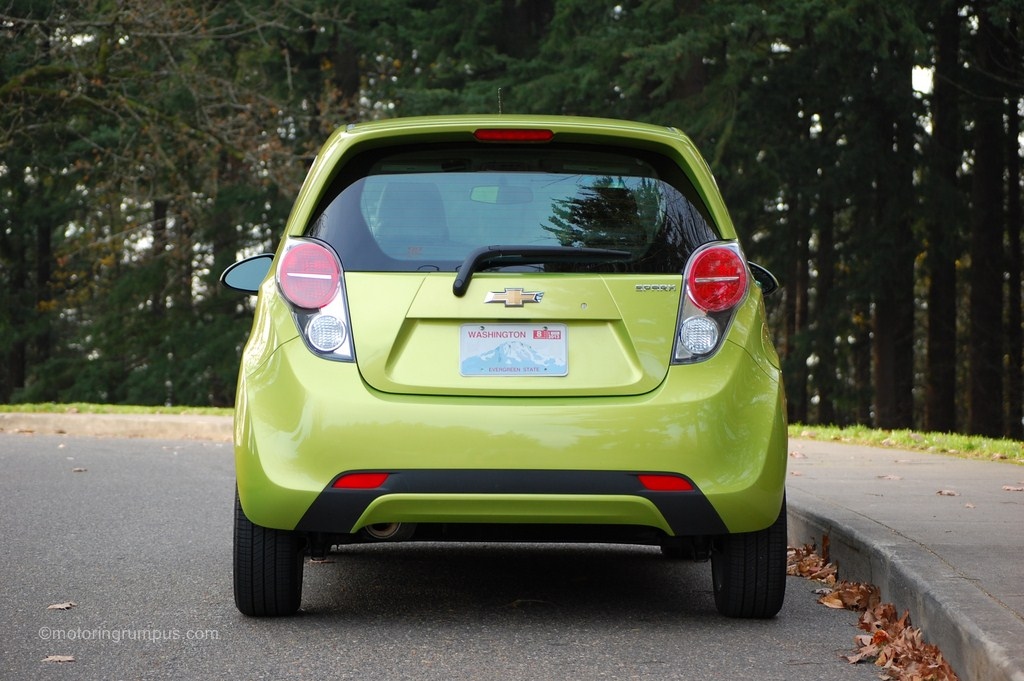 2013 Chevy Spark 1LT Rear