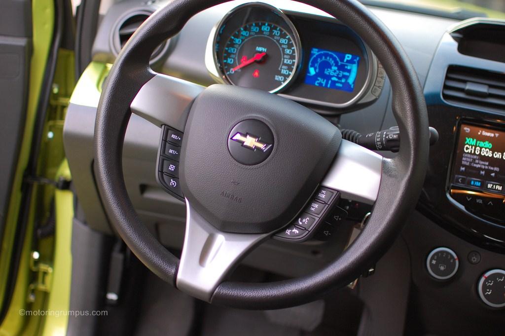 2013 Chevy Spark 1LT Steering Wheel
