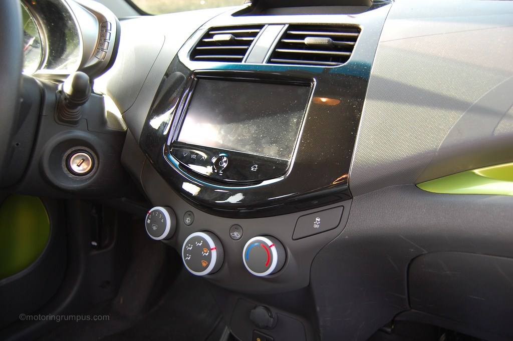 2013 Chevy Spark Climate Controls