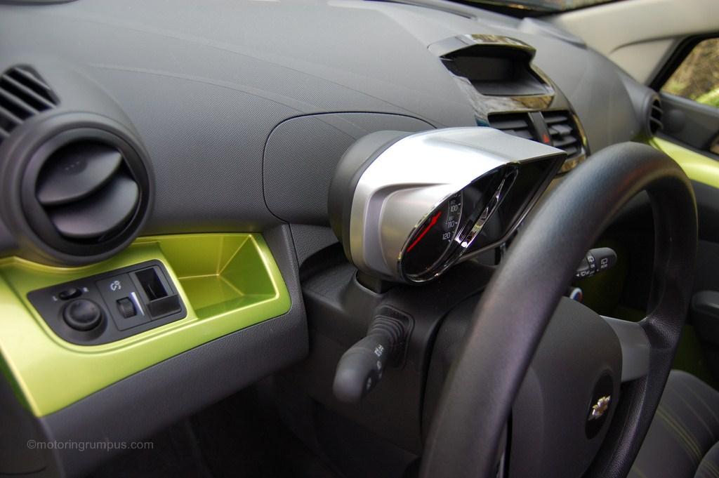 2013 Chevy Spark Dash