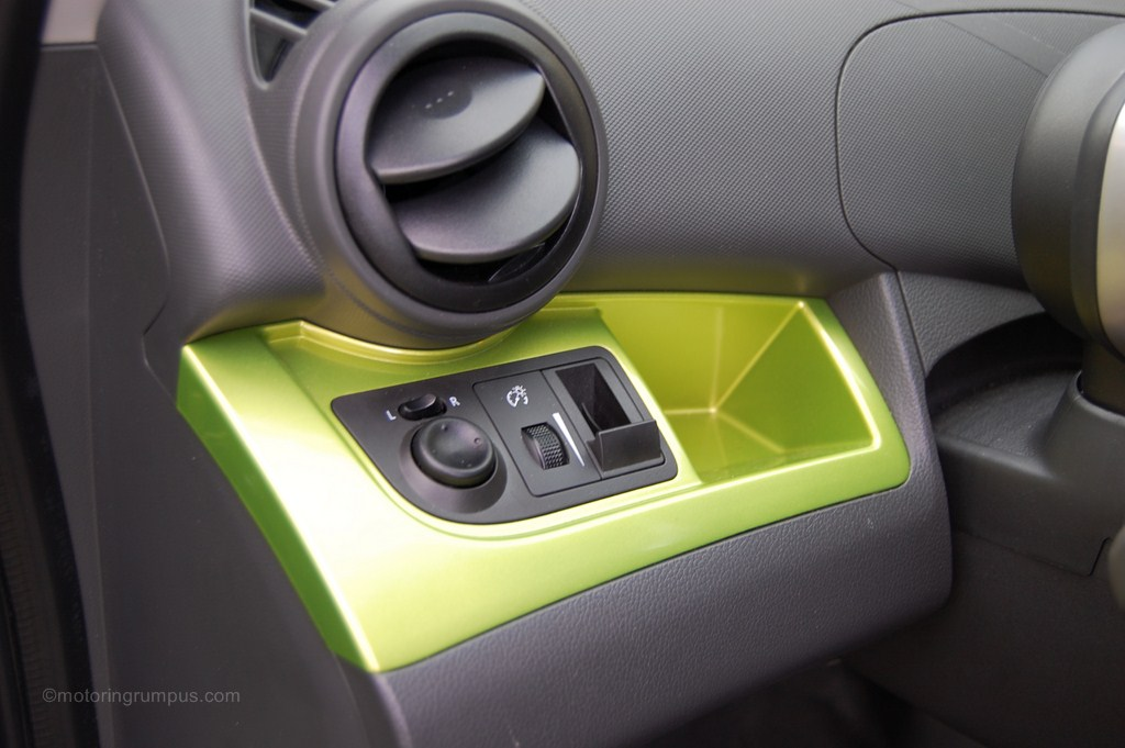 2013 Chevy Spark Driver Dash