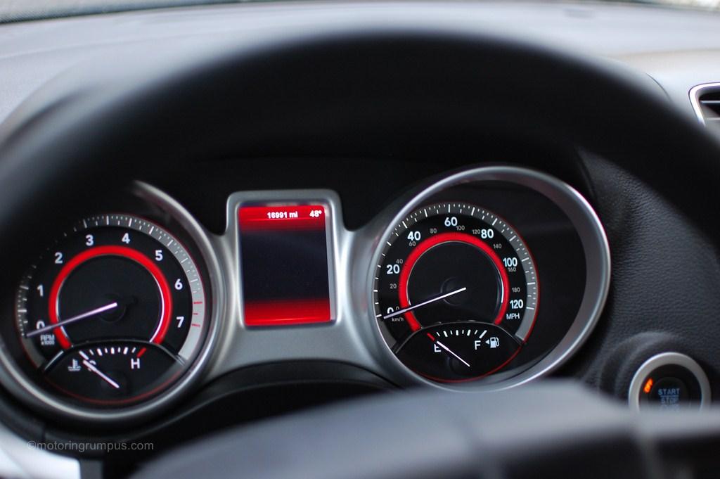 2012 Dodge Journey Speedometer