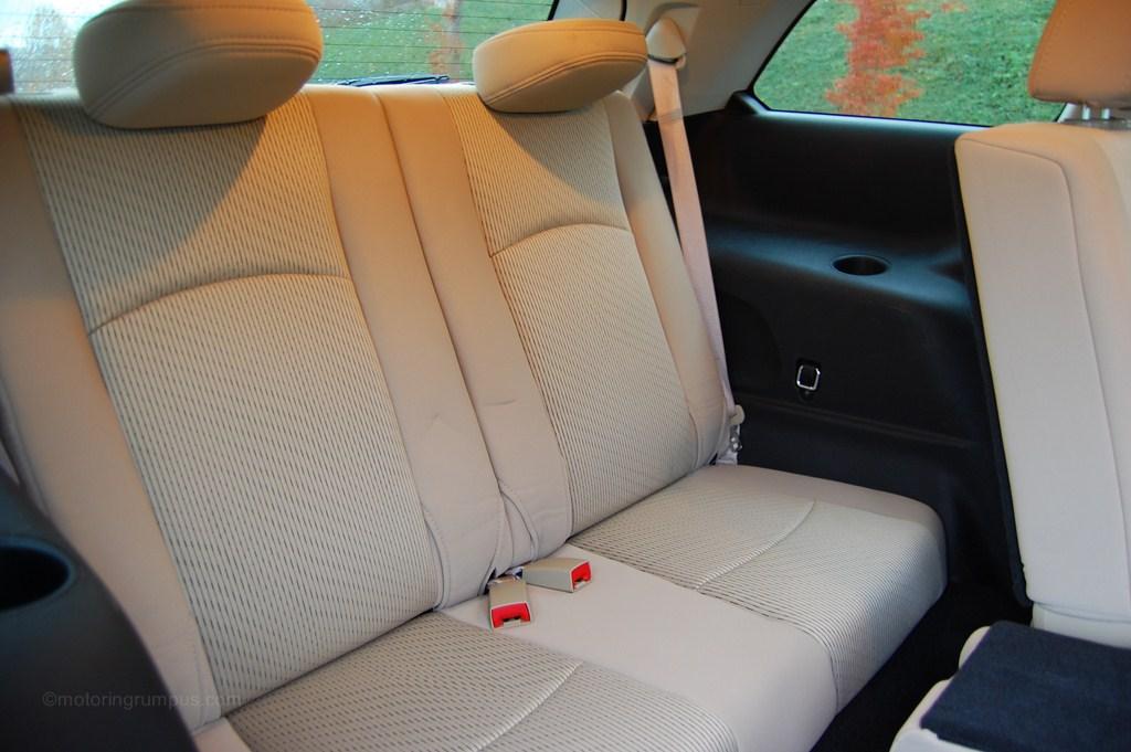2012 Dodge Journey Third-Row Seats