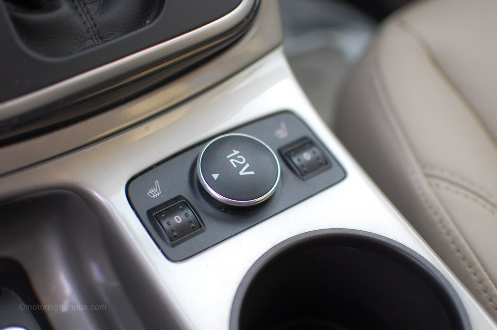 2013 Ford Escape Heated Seats Switch and 12v Outlet