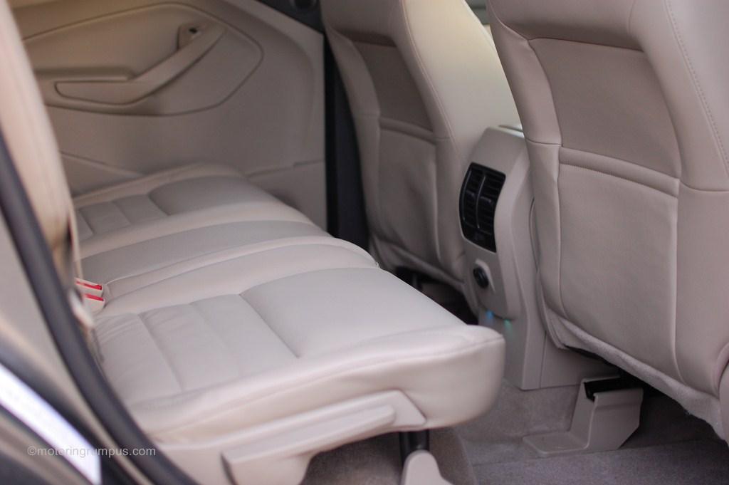 2013 Ford Escape Rear Seats