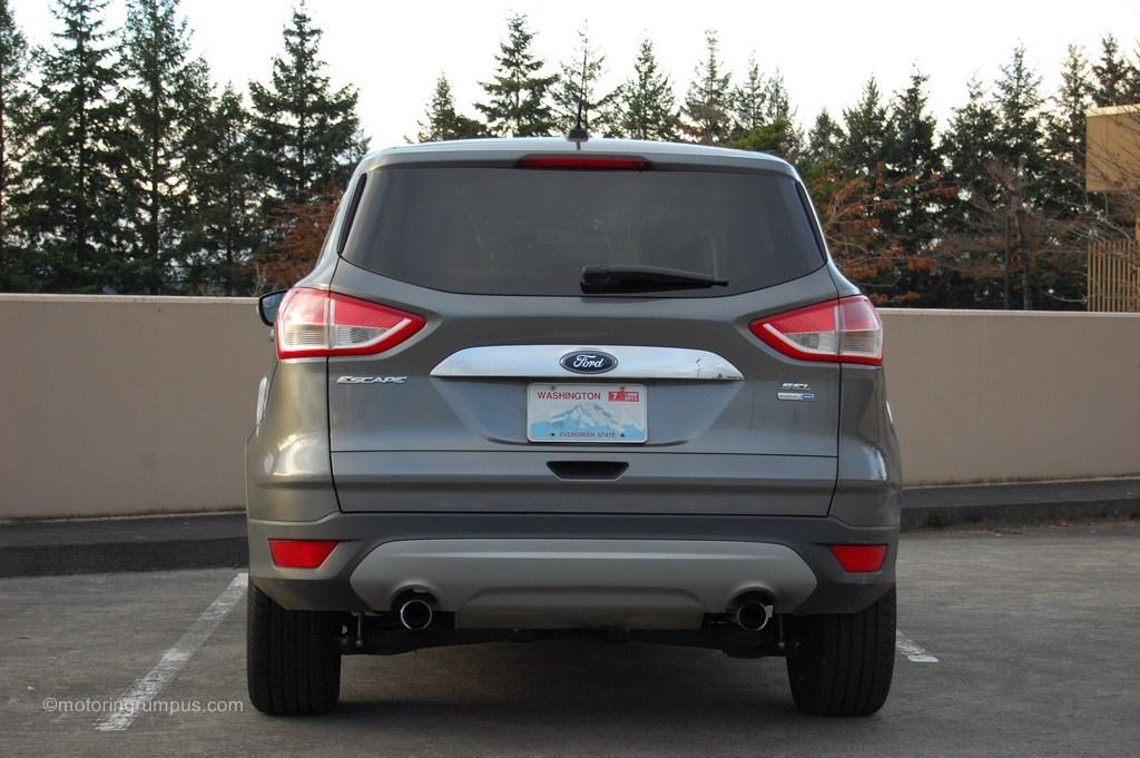 2013 Ford Escape Rear