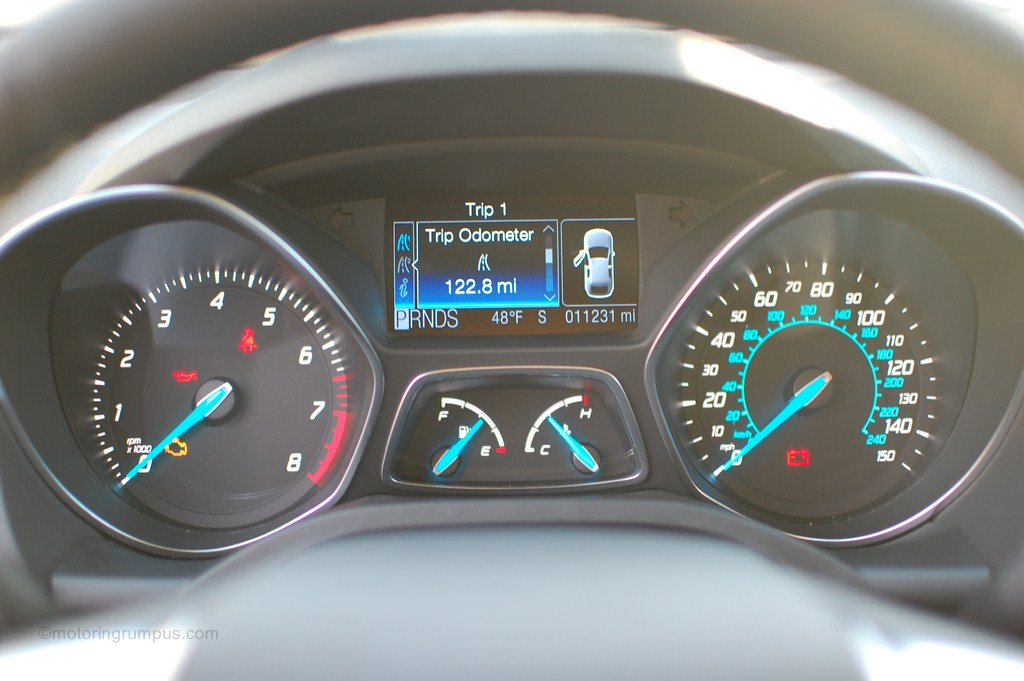 2013 Ford Escape Speedometer