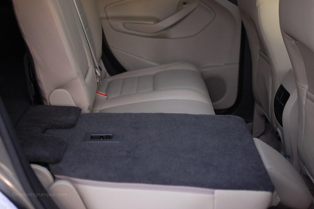 2013 Ford Escape Split Folding Rear Seats