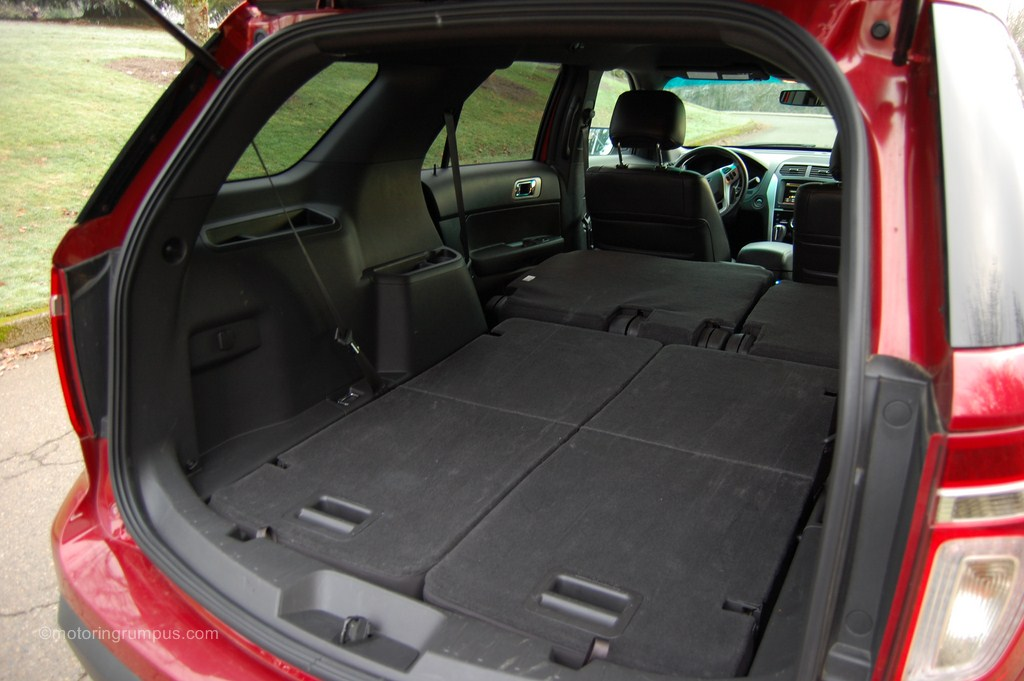 2013 Ford Explorer Cargo Space Motoring Rumpus
