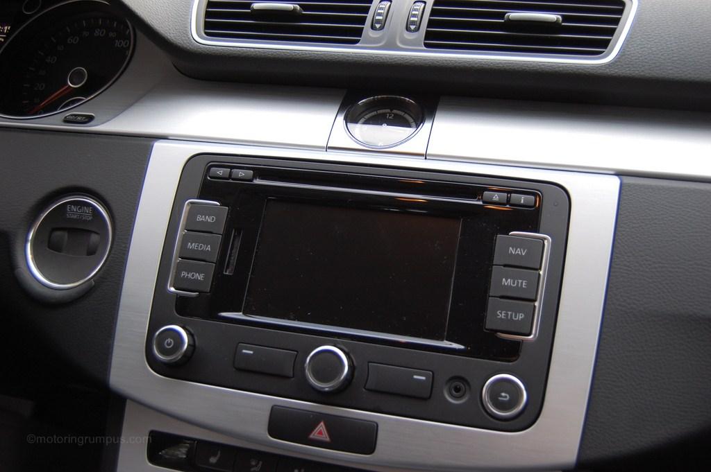 2013 Volkswagen CC 5-inch Touchscreen