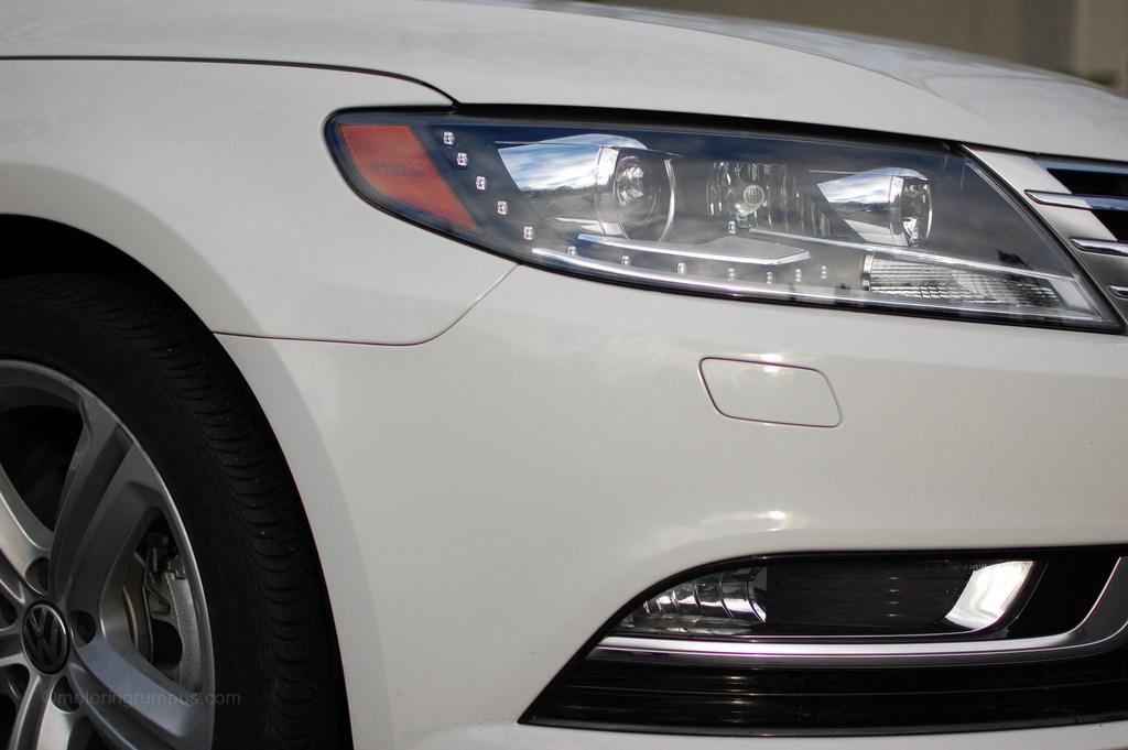 2013 Volkswagen CC Headlights